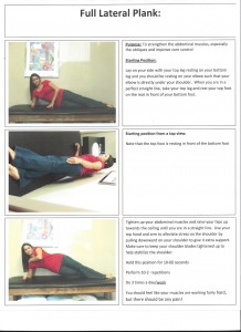 Full Lateral Plank